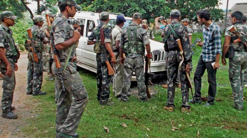 4 jawans killed in landmine blast in Odisha