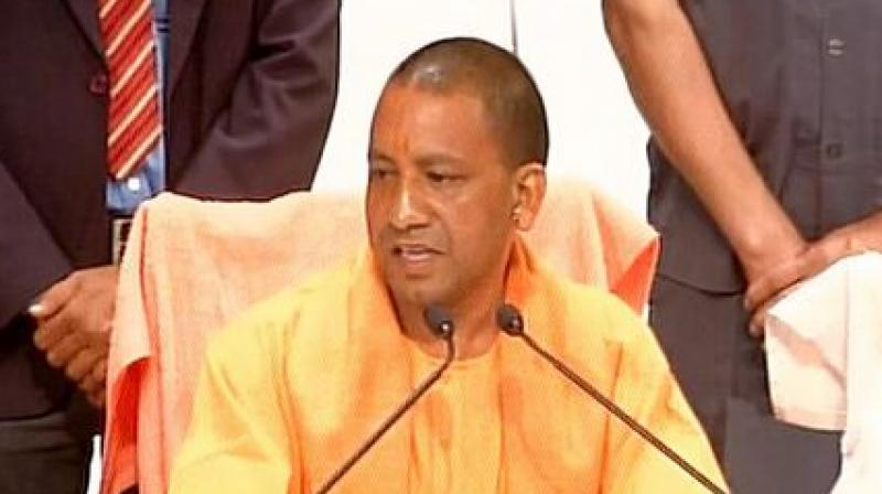 Yogi Adityanath, the Chief Minister of Uttar Pradesh. (Photo: ANI/Twitter)