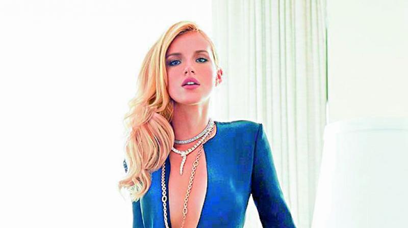 Bella Thorne Requested No Retouching for Nude Shoot to Highlight her Flaws