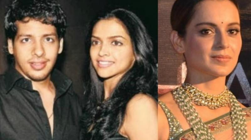 Nihaar Pandya was in a relationship with Deepika Padukone during their modelling days, but didn't make news in the last few years before bagging Kangana Ranaut's Manikarnika.'