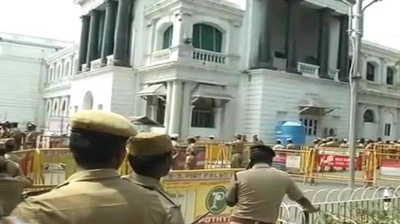 Tamil Nadu Assembly. (Twitter | ANI)