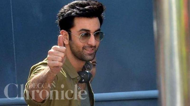 Ranbir Kapoor is currently in New York shooting for the Dutt biopic.