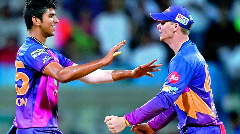 IPL 2017: Mumbai vs Pune scoreboard