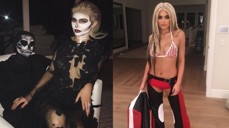 the jenners sure do know how to raise the odd spooked eyebrow - Christina Aguilera Halloween