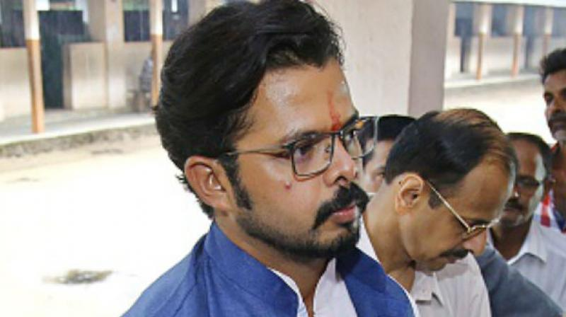 High Court asks BCCI to lift life ban on Sreesanth class=