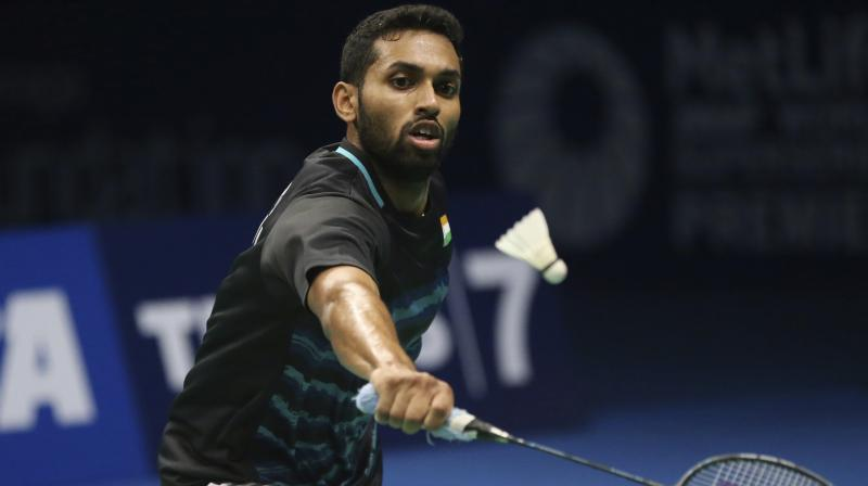 HS Prannoy who had stunned World and Olympic Champion Chen Long of China to enter the semifinals won the first game 21-17 but his Japanese opponent came out with a more aggressive approach in the second game to build an early lead