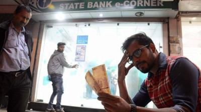 Long queues were noticed outside cash deposit machine counters, ATMs and petrol pumps across various cities in the entire nation after Prime Minister Narendra Modi took the bold step against black money and corruption by banning existing 500 and 1000 rupee notes beginning November 9.