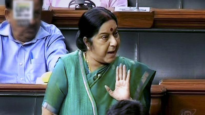 External Affairs Minister Sushma Swaraj (Photo: PTI)