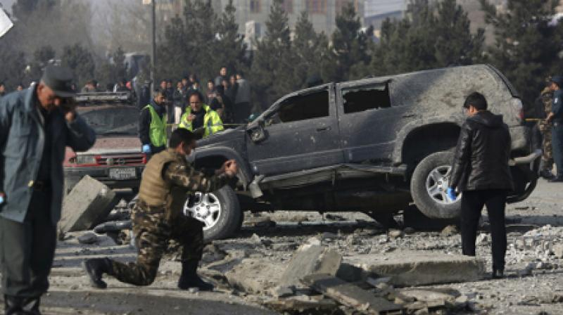 Taliban claim multiple attacks in Afghan capital Kabul