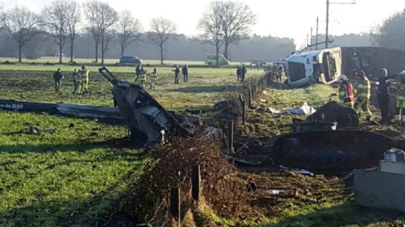 Train Derails in Netherlands, Several Passengers Injured