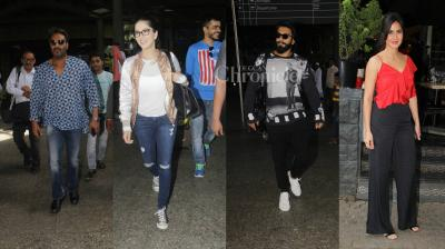 Bollywood stars have no qualms flaunting their style and swagger, be it the airport or the gym. (Photo: Viral Bhayani)