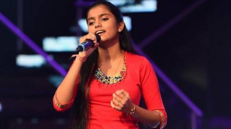 Reality singing star Nahid Afrin (Photo: Facebook)