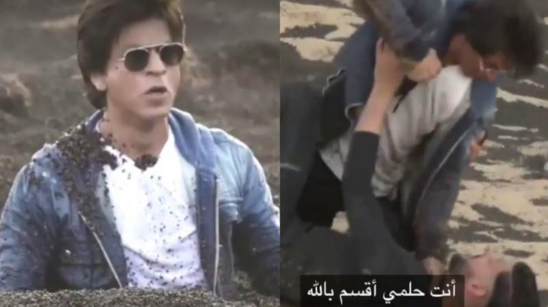 Prank on Shah Rukh Khan goes wrong