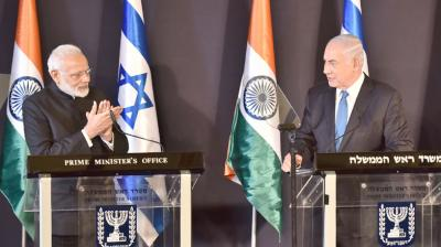 Prime Minister Narendra Modi during joint press statement with his Israeli counterpart Netanyahu, said both the countries have suffered first hand violence and hatred spread by terror and have agreed to fight against it.