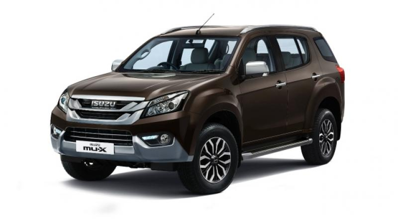 MU-X replaces the discontinued MU-7 in the Indian market and will compete with the likes of the Toyota Fortuner and the Ford Endeavour