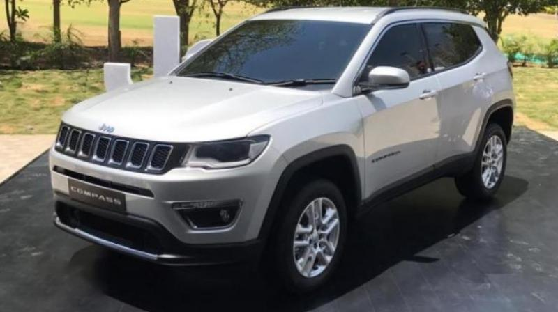 Jeep Compass production begins in India