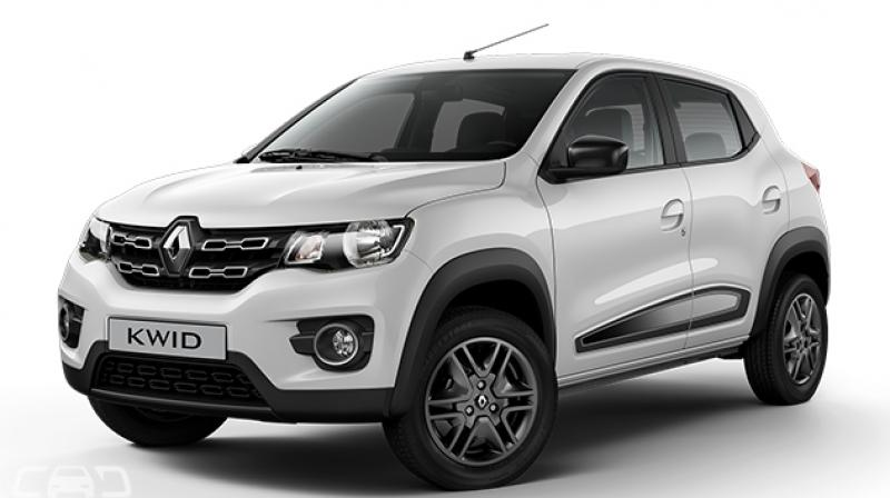 Currently, the Kwid is one of the most popular cars in the entry-level car segment in the country.