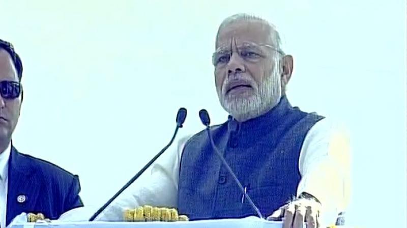 Demonetisation has broken the backs of terrorists, drug cartels, says PM Modi