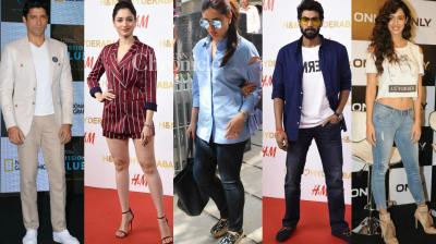 Bollywood stars were spotted by the shutterbugs at the airport, events and other locations on Thursday. (Photo: Viral Bhayani)