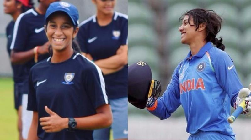 Jemimah did not bat with Smriti's score in mind while hitting the double century. (Photo: Instagram/PTI)