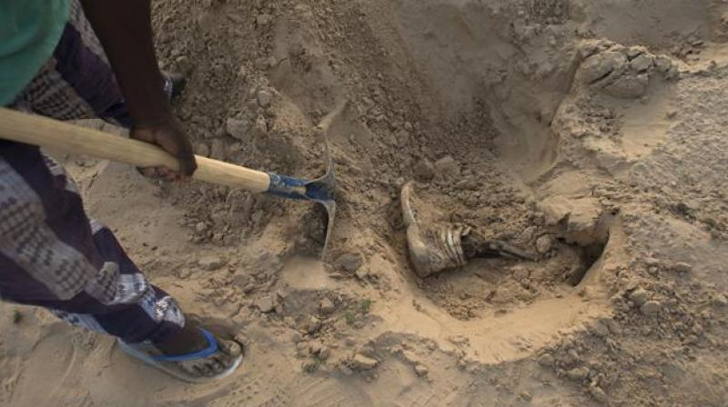 Bodies found in a mass grave in Northern Mali. (Photo: Representational/AP)