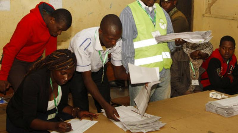 Kenyans are going to the polls to vote in a general election after a tightly fought presidential race between incumbent President Uhuru Kenyatta and main opposition leader Raila Odinga. (Photo: AP)