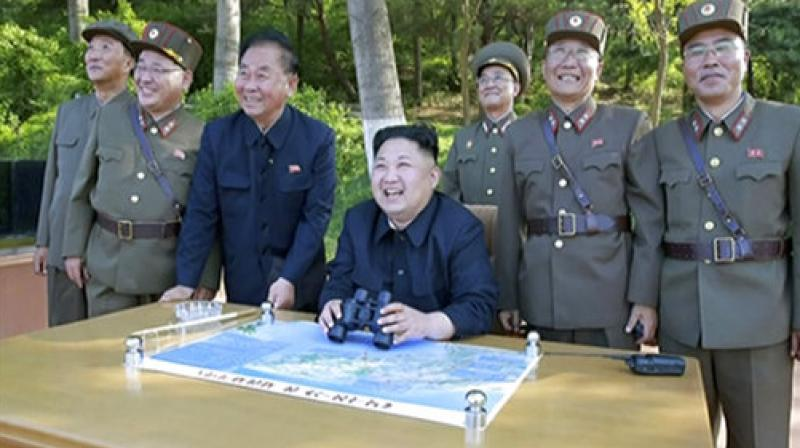 North Korea 'FIRES missile' after threatening U.S. with war