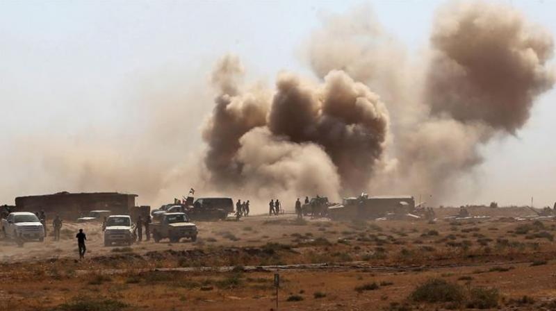 Military forces are reportedly moving from the western and northeastern front of Tal Afar. (Photo: AFP)