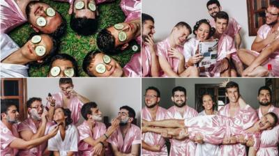 Computer Engineer Rebeca Abrantes decided to have an unusual photoshoot with her desginated brothers because she didn't have any girlfriends and the photos are really funny. (Photo: Instagram/fernandoduquefotografia)