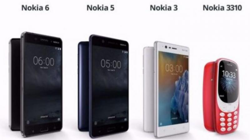 All these Nokia phones were unveiled at the Mobile World Conference held in late February this year.
