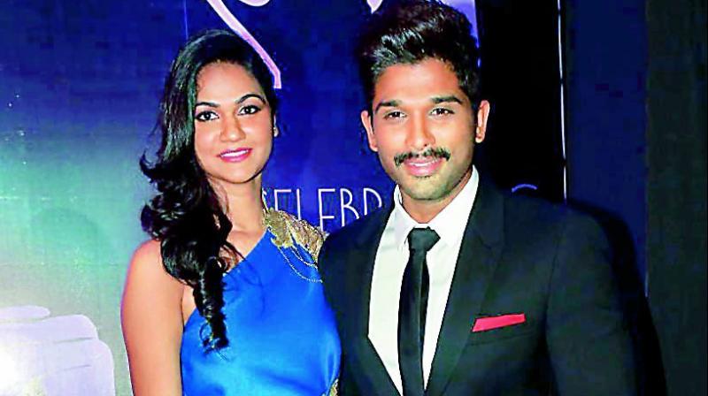 Incredible Its A Girl Allu Arjun Wife Sneha Welcome Their 2Nd Baby Hairstyles For Men Maxibearus