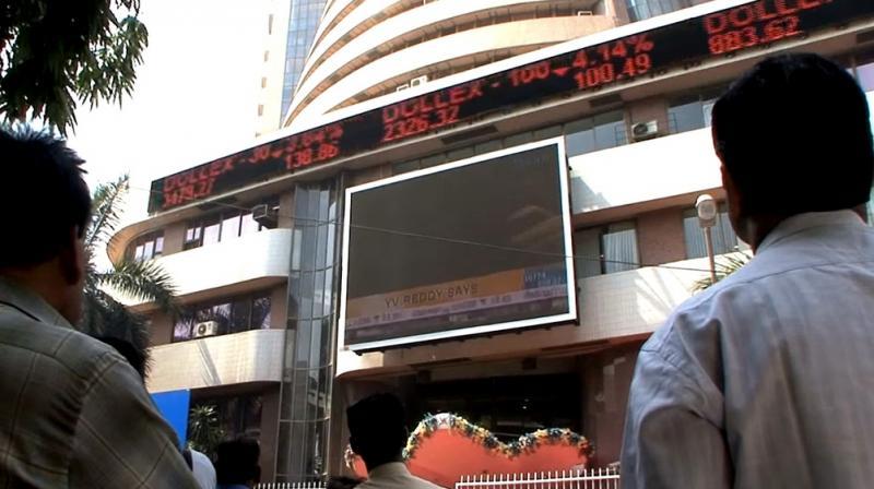 Sensex Turns Flat, Nifty Struggles Near 8250