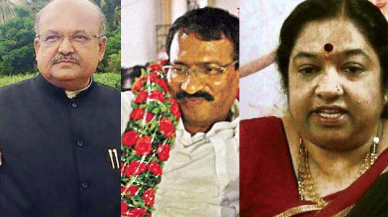 Three to be inducted into Cabinet today