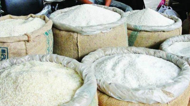 They are sticky & smelling: 'plastic rice' cooks up a storm in Telangana