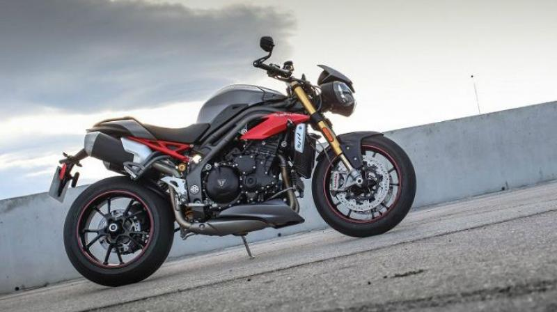 2017 triumph speed triple to be launched in september. Black Bedroom Furniture Sets. Home Design Ideas