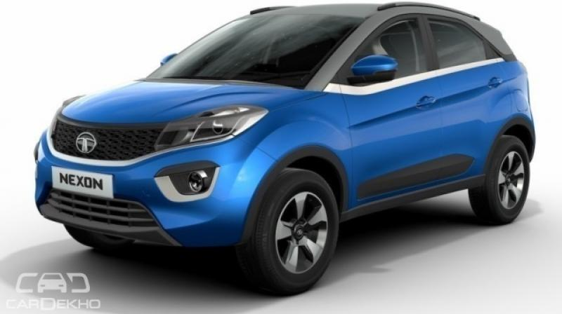 First Batch Of New Tata Nexon SUV Rolls Out Of Ranjangaon Plant