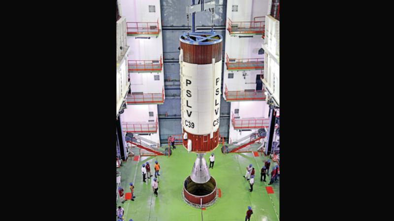 Navigation Satellite IRNHSS-1H to be Launched Today by ISRO
