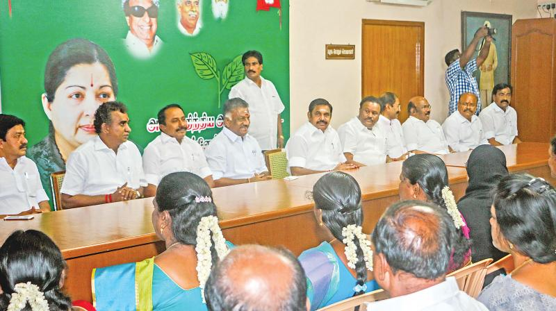 109 MLAs turn up at ruling party meet held in Chennai