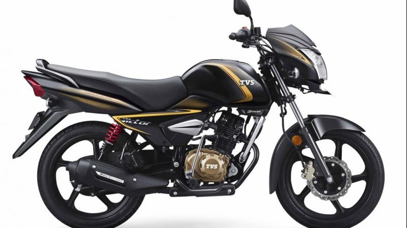 TVS claims a fuel efficiency of 72kmpl for the Victor.
