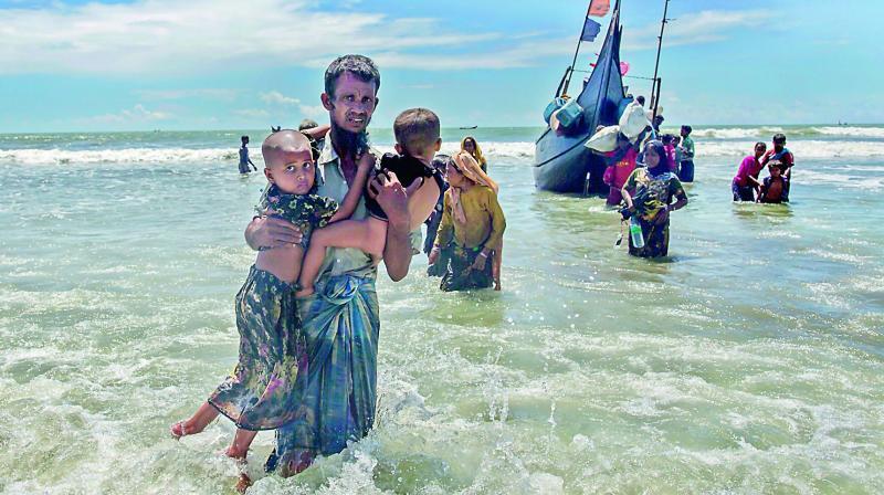 Asaduddin Owaisi asks Narendra Modi not to view Rohingyas as Muslims