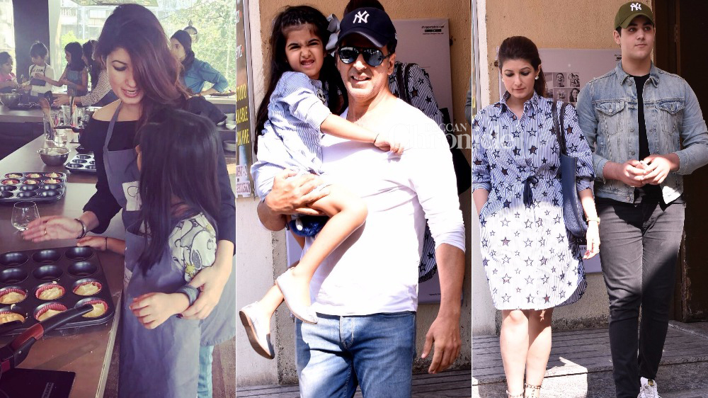 Twinkle Khanna Kids It's all about family ...