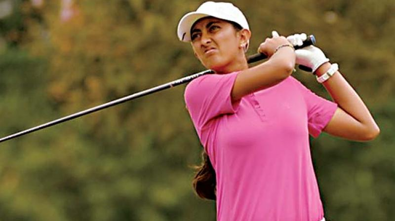 Aditi Ashok, who tees off on Friday trying to become only the second repeat winner of the Hero Women's Indian Open.