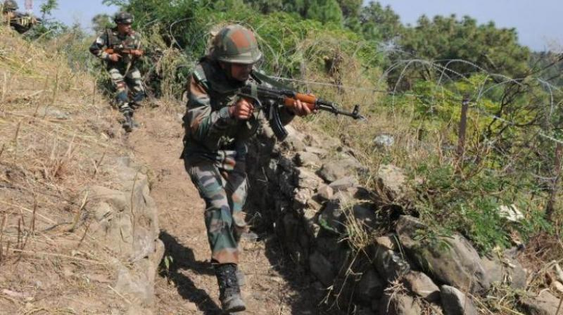 Security forces launched a cordon and search operation in Gulab Bagh area of Tral in Pulwama. (Photo: Representational/File)