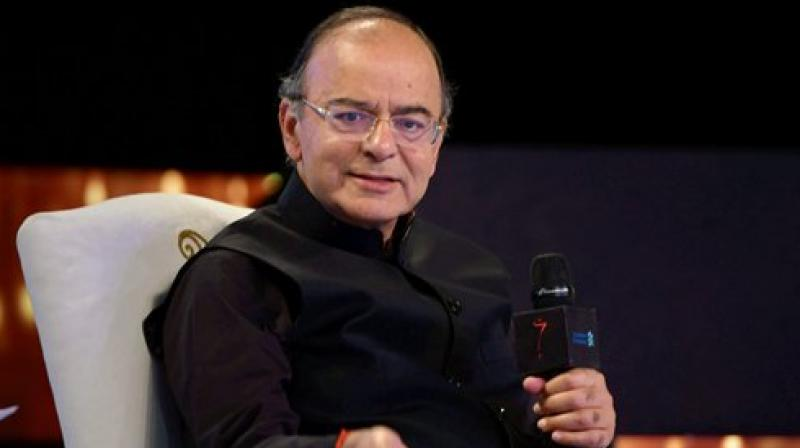 Jaitley briefs party MPs on GST Bills and their benefits
