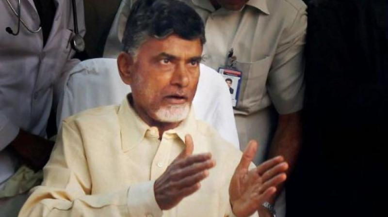 Chief Minister N. Chandrababu Naidu used to use the first gate when operations at the Velagapudi Secretariat began in October 2016.