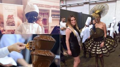 The Salon Du Chocolat held in different cities each year showcases chocolate in fashion, art and cuisine (Photo: Facebook)