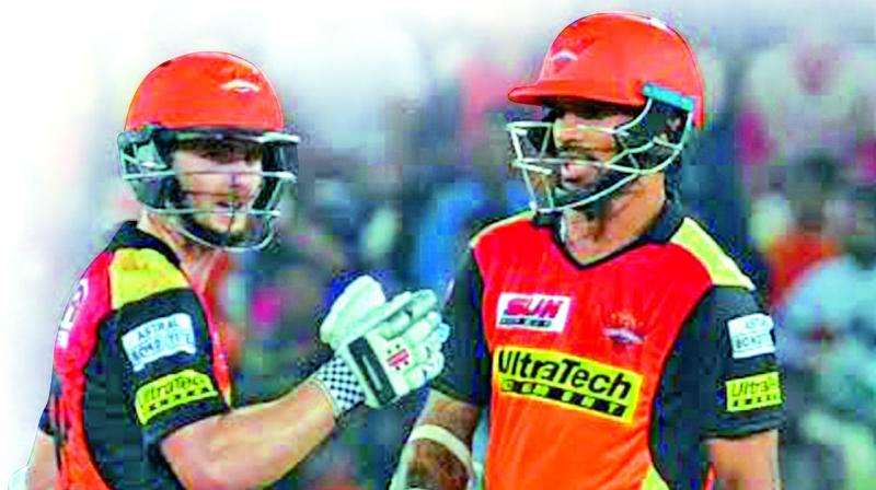 David Warner fails but Sunrisers Hyderabad still prevail in IPL