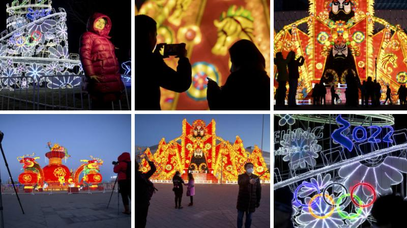 Saturday is the Lantern Festival in China, the final day of the annual celebration of the Chinese Lunar New Year. (Photo: AP)