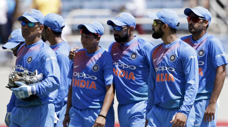 Nike's India cricket team jersey gets thumbs down from BCCI