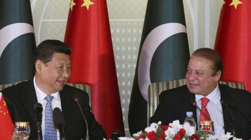 Chinese president Xi Jinping and Pakistan PM Nawaz Sharif. (Photo: File)